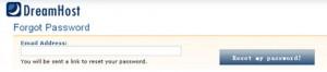DreamHost主机找回账户密码图文教程