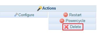 删除DreamHost独立服务器