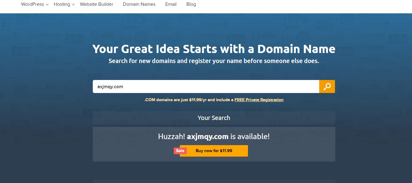 DreamHost域名注册